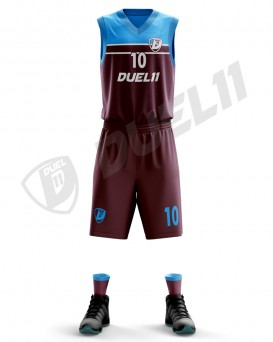 DUEL11 DIGITAL BASKETBALL TRIKOT - DB2127