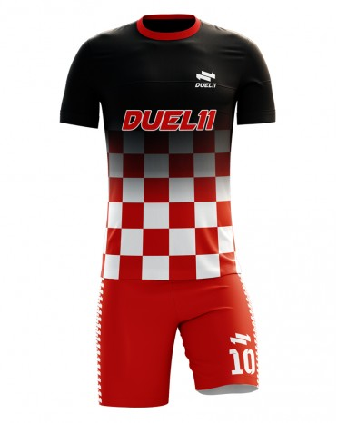 DUEL11 DIGITAL FUSSBALL TRIKOT - DF1195